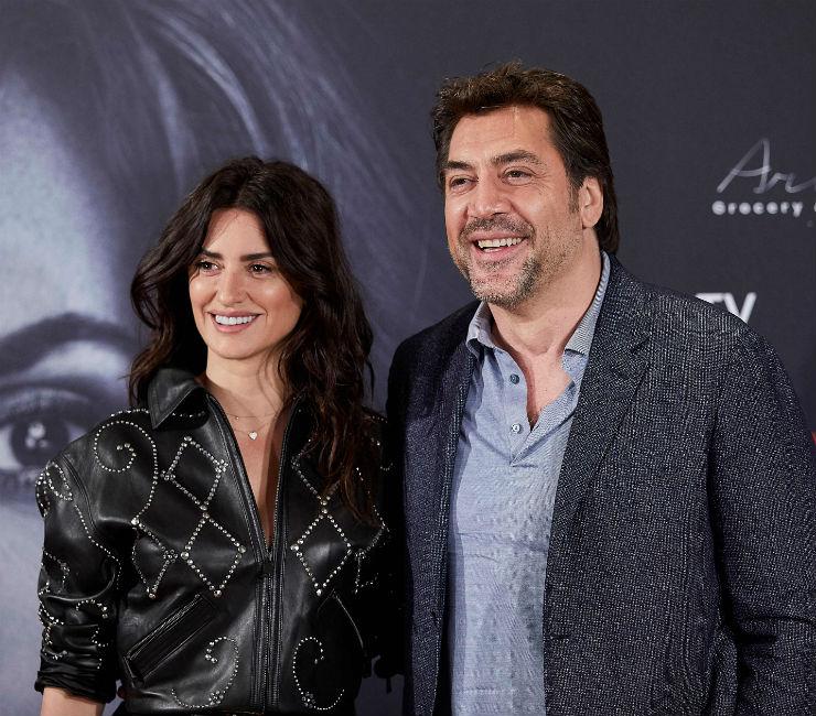 Пенелопа Крус и Хавьер Бардем на премьере фильма «Эскобар»