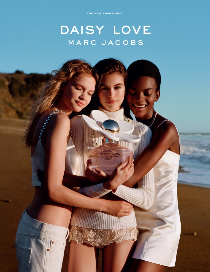 Кайя Гербер стала лицом нового аромата от Marc Jacobs Daisy Love
