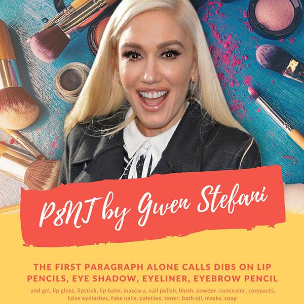 Гвен Стефани запускает собственную линию декоративной косметики