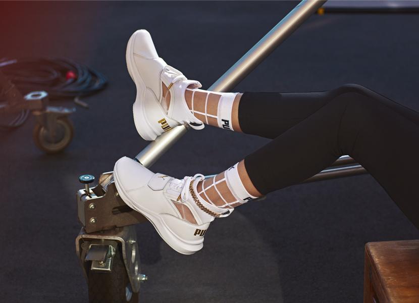 Селена Гомес придумала дизайн кроссовок Puma