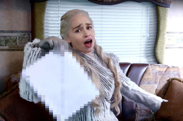 Эмилия Кларк показала съемочную площадку 8 сезона «Игры престолов»