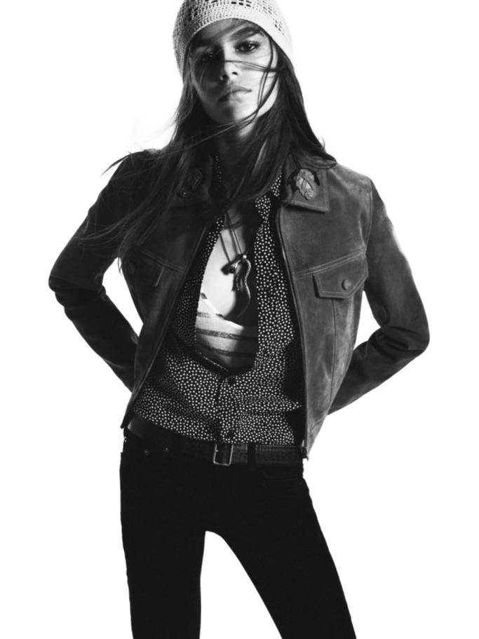 Кайя Гербер стала лицом Saint Laurent