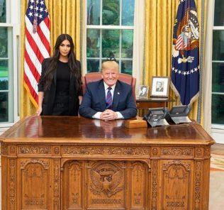 Ким Кардашьян провела переговоры с Дональдом Трампом