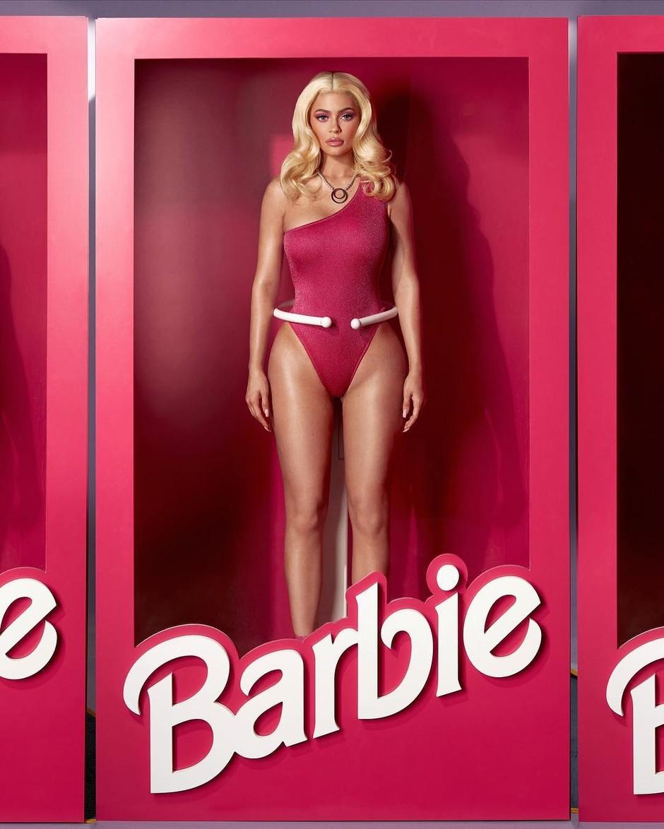Кайли Дженнер стала Барби