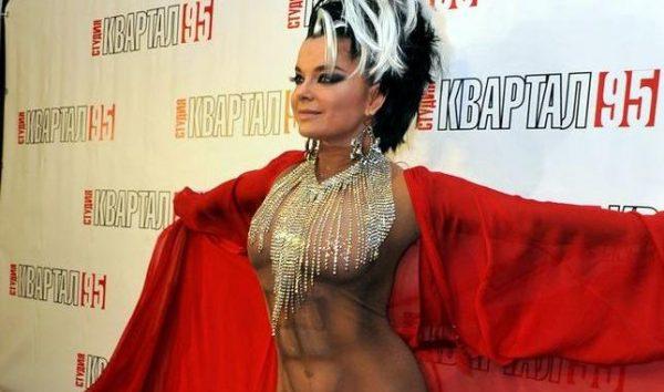 Российские звезды которые часто появляются в откровенных нарядах