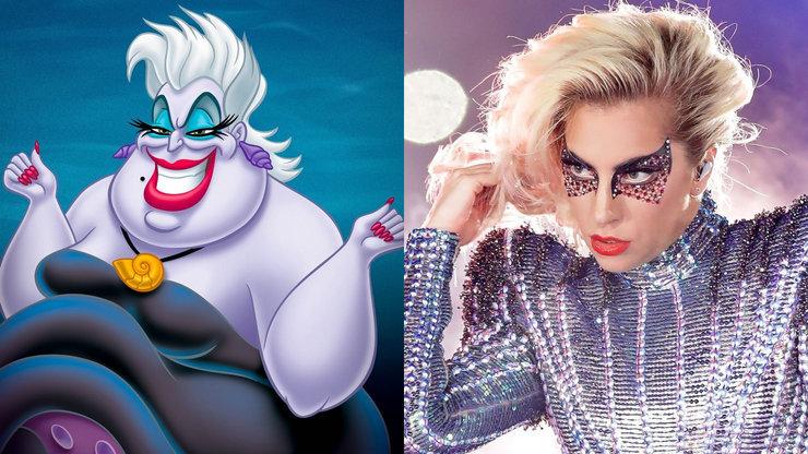 Леди Гага может стать Урсулой из «Русалочки»