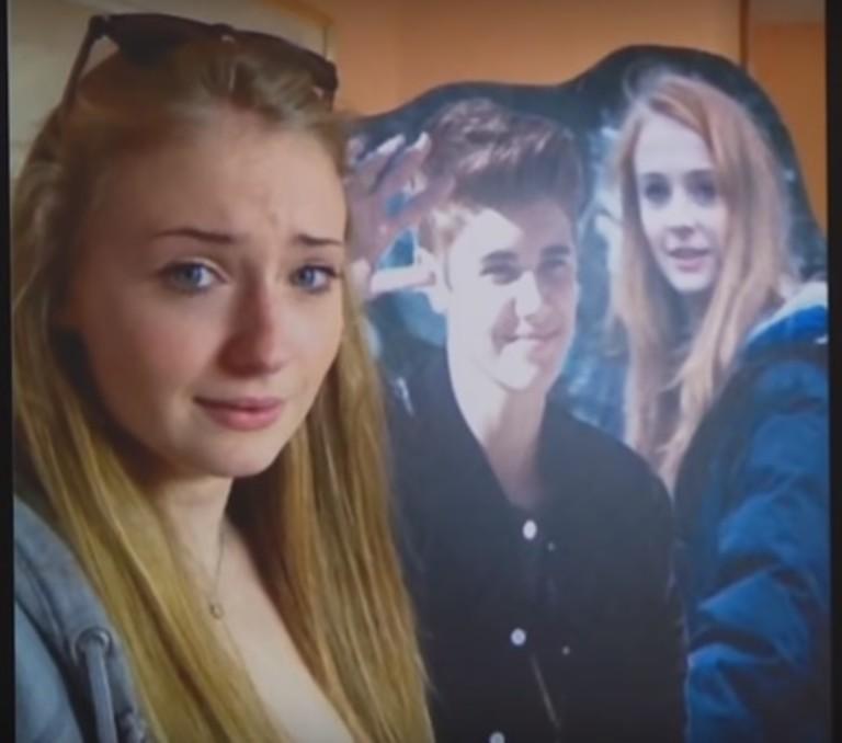 «Этот неловкий момент»: Софи Тернер рассказала о знакомстве с Джастином Бибером