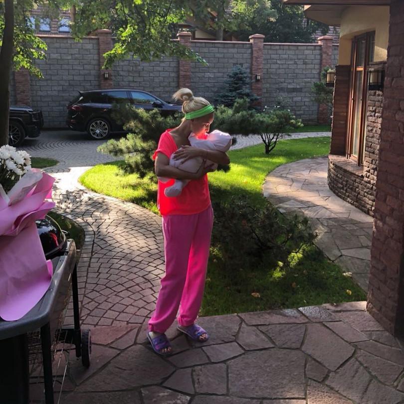 Лера Кудрявцева расплакалась из-за собственной дочери
