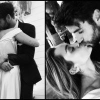 Майли Сайрус и Лиам Хемсворт тайно поженились