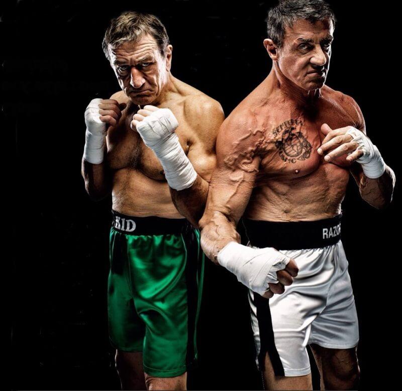 Сталлоне vs  Де Ниро - бой