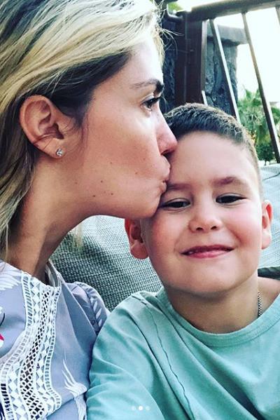 Агата Муцениеце рассказала о состоянии сына
