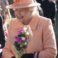 Королева Елизавета II появилась на публике в модном наряде