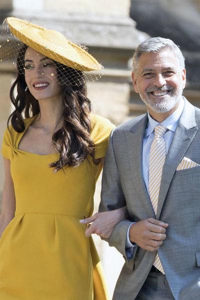 Амаль Клуни запретила мужу видеться с детьми