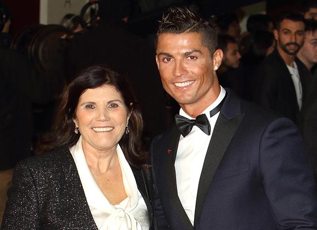 Мать Криштиану Роналду больна онкологическим заболеванием