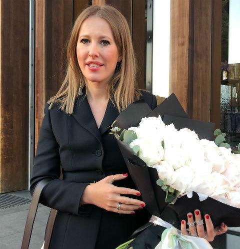 Ксения Собчак похвасталась своим сыном