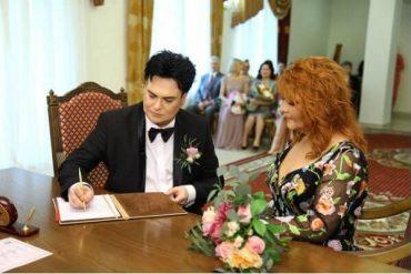 Красивая свадьба на московском необскребе - Анастасия и Юлиан