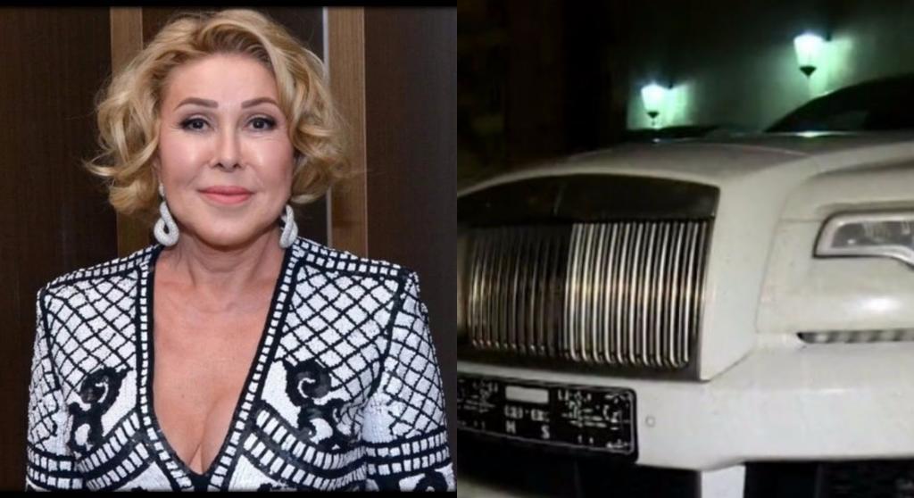 Любовь Успенская получила в подарок автомобиль за 30 миллионов