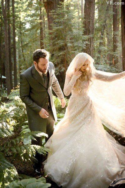 Сказка, ставшая былью -  Лесная свадьба Шона Паркера
