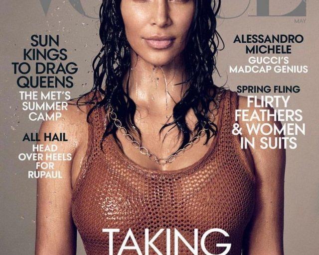 """""""Мне говорили - этого никогда не будет"""", - Ким Кардашьян на обложке американского Vogue"""