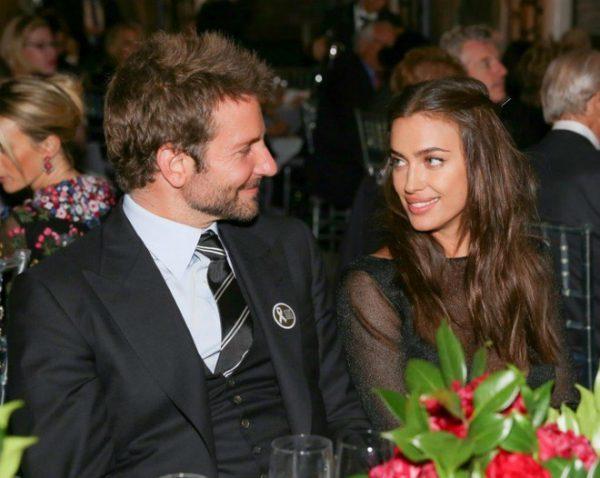 В Голливуде все спокойно - романтический ужин Ирины Шейк и Бредли Купера