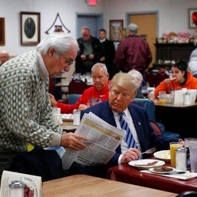 Самые щедрые чаевые оставил мне Дональд Трамп