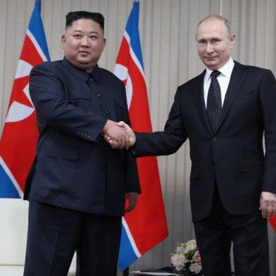 Тет-а-тет - лишь Путин, Ким Чен Ын, переводчики и шелест ветра за окном