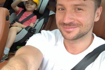 Сергей Лазарев показал всем, как поздравил его маленький сын Никита