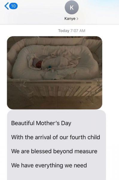 Ким и Канье дали имя ребенку