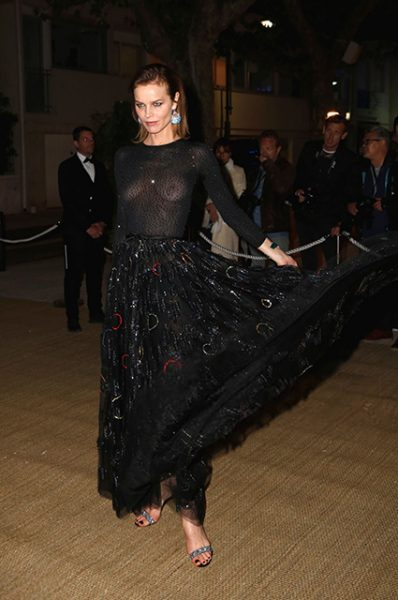 Моника Белуччи и Белла Хадид на вечеринке дома Dior