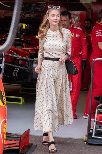 """Гран-при """"Формулы-1"""" - Беатрис Борромео, Белла Хадид, княгиня Шарлен и другие на гонке"""