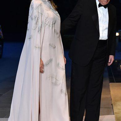 Фарфоровая чашка и диковинная шкатулка - японские дары Дональду и Мелании Трамп