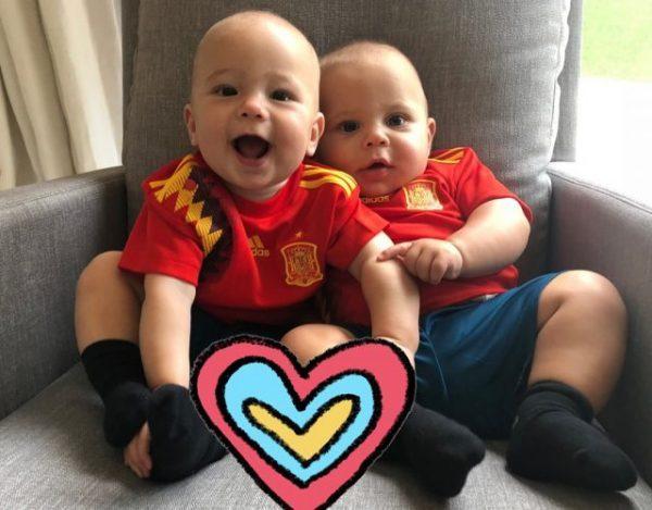 Энрике Иглесиас смешит своих близнецов (видео)