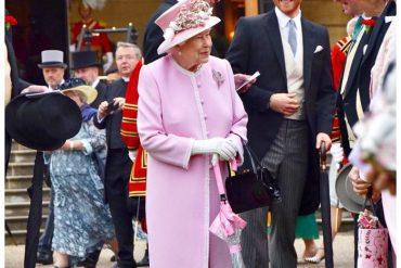 Последняя в этом году садовая вечеринка королевы Елизаветы