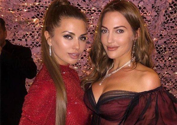 Мерьем Узерли с Викторией Боня в Монте-Карло