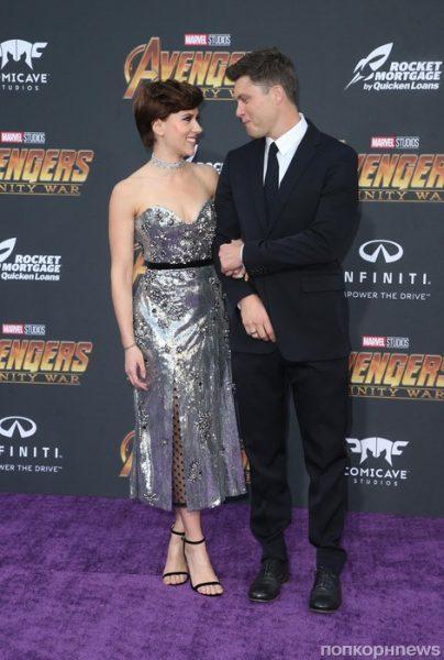 """Колин Жост: """"Скарлет моя! Я везунчик!"""" Помолвка звездной пары"""