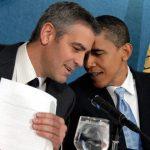 Мишель и Барак Обама отдыхают на вилле Клуни