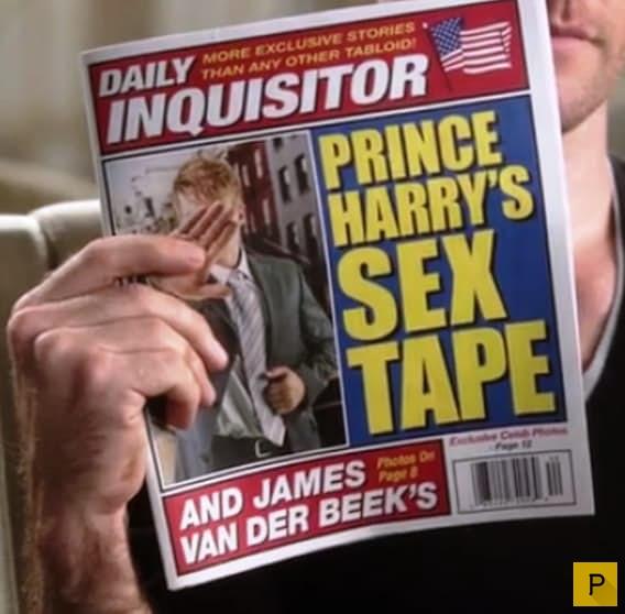 Что помешало роману принца Гарри и Дженнифер Энистон?