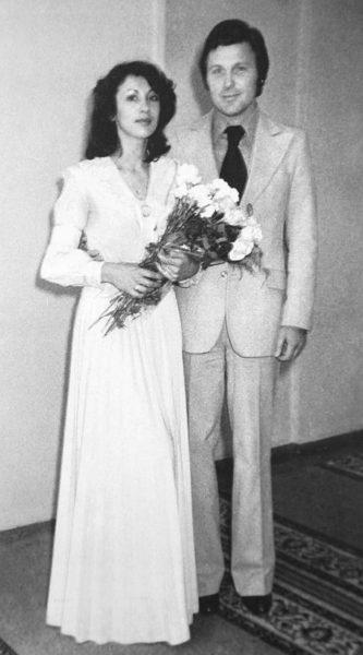 Редкие свадебные фото советских кумиров