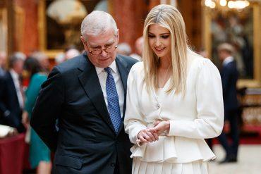 Принц Гарри избегал американского президента и общался с его дочерью