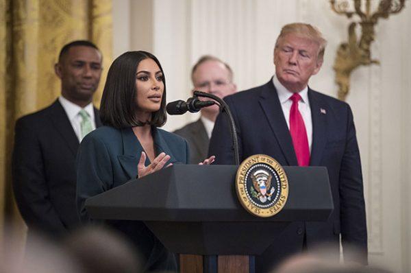 Ким выступила в Белом доме