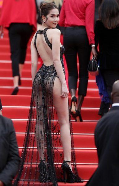 Вьетнамскую модель чуть не посадили из-за хулиганского платья
