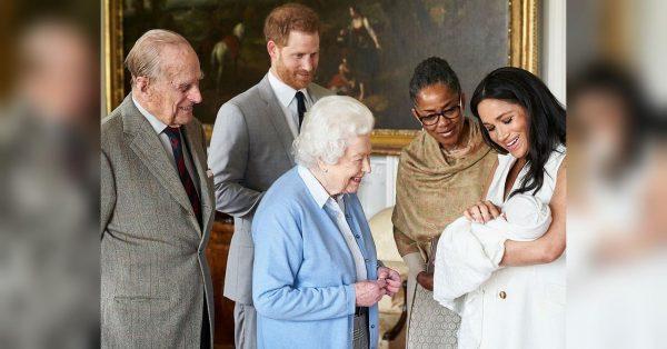 Названа точная дата крещения сына принца Гарри и Меган Меркл - чтоб было удобно всем!