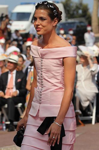 Какое свадебное платье выбрала Шарлотта Казираги
