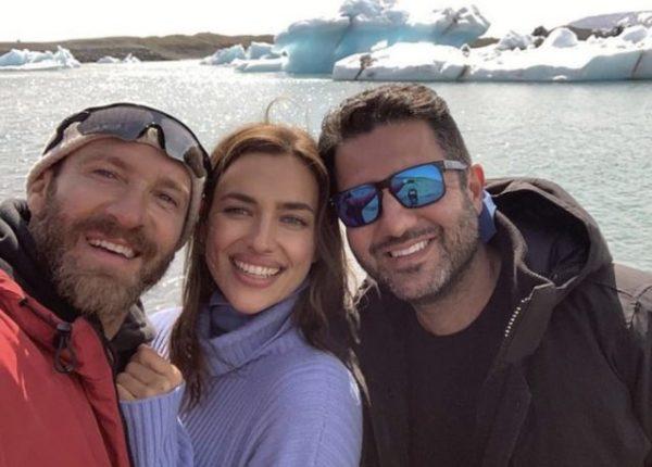 Ирина Шейк отправилась в Исландию сравнить холод вечных льдов и сердце Брэдли
