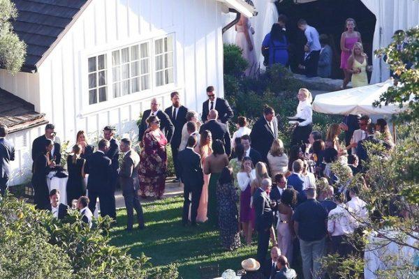 Крис Патт и Кэтрин Шварцнеггер поженились