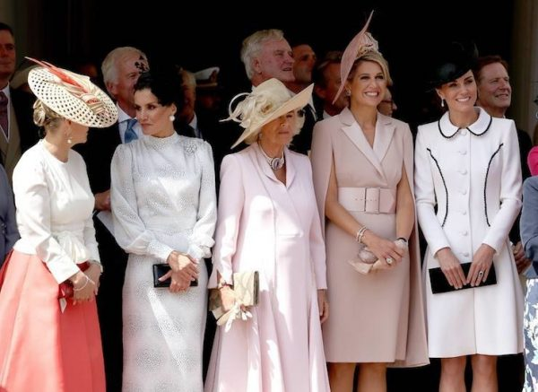 Мы узнали, почему Кейт Мидлтон проигнорировала испанскую королеву! (видео)