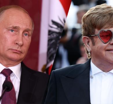 Владимир Владимирович попал в реальную потасовку с геями - Элтон Джон ему перечит