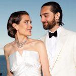 Первые кадры со свадьбы Шарлотты Казираги и Дмитрия Рассама