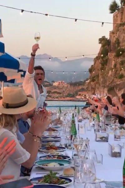 Красивая звездная свадьба - Регина Тодоренко и Влад Топалов (видео)