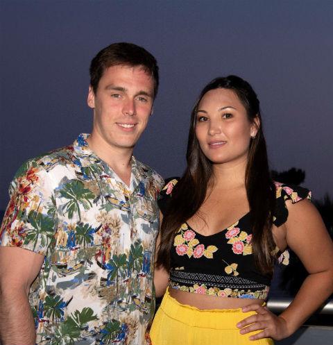 Красивая пара - внук Грейс Келли женился на девушке с вьетнамскими корнями